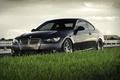 Картинка фокус, тачка, машины, bmw, бмв, купе, 335i coupe, тачки, небо, трава