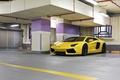 Картинка авентадор, lp700-4, ламборгини, aventador, парковка, освещение, лампы, yellow, lamborghini, жёлтый