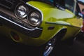 Картинка Dodge Challenger, классика, передок, Додж Челенжер