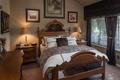 Картинка стиль, подушки, комод, картины, спальня, кровать, дизайн