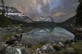 Картинка озеро, горы, пейзаж, природа