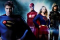 Картинка Tom Welling, Clark Kent, green arrow, supergirl, Stephen Amell, Oliver Queen, superman, flash, Grunt Gustin, ...