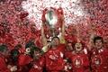 Картинка Eurofinal, Steven Gerrard, Turkey, Liverpool vs Milan, празднование, Liverpool FC, победа, football wallpapers, Istanbul, чемпионы, ...