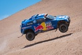 Картинка Синий, Volkswagen, Скорость, Гонка, Red Bull, Touareg, Rally, Dakar, Ралли, Туарег, В Воздухе