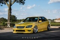 Картинка as200, altezza, is300, yelow, face, wheels, XE10, front, rs200, альтезза, тойота, lexus, tuning, лексус, japan, ...