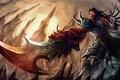 Картинка меч, демон, league of legends, LoL, tryndamere