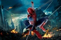 Картинка new, hd wallpaper, Town, Avengers, movies, The, Spider-man, movie, cars, The Avengers, car, 1080p, screen, ...