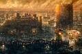 Картинка город, игра, развалины, Fallout New Vegas, культовая