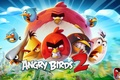 Картинка flowers, game, red, adventure, bird, powerful, strong, teeth, series, polecats, Angry Birds 2, Terence, Rovio ...
