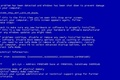 Картинка минимализм, синий экран, BSOD