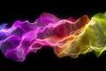 Картинка разноцветный, шелк, неон