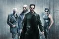 Картинка Action, Sci-Fi, Tom Anderson, Trinity, Powers, Joe Pantoliano, Carrie-Anne Moss, Neo, Guns, Pistols, Film, Superhuman, ...