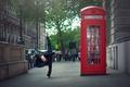 Картинка Marine Fauvet, Лондон, девушка, растяжка, город