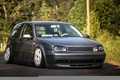 Картинка volkswagen, turbo, wheels, гольф, golf, tuning, coupe, front, gti, face, germany, low, r32, stance, mk4, ...