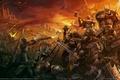 Картинка Warhammer, mark of chaos драконы, битва, герои