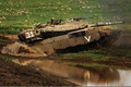 Картинка Меркава, танк, грязь