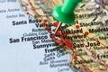 Картинка city, San Francisco, map, tack