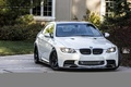 Картинка bmw, turbo, white, wheels, tuning, power, germany, e92