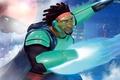 Картинка Action, Sci-Fi, Damon Wayans Jr., Boy, Shell, Hands, Wasabi, Electro, Big Hero 6, Blue, Building, ...