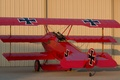 Картинка истребитель, войны, триплан, мировой, Первой, во время, Fokker DR1, (replica)
