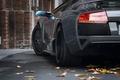 Картинка Листья, авто, черный