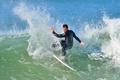 Картинка лето, море, волна, Сёрфинг, брызги