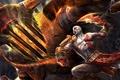 Картинка Hell, God of War 3, Sword, Hadis, Blade of Shaos, Kratos