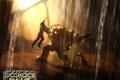 Картинка Bioshock, вода, девочка, папочка, скафандр