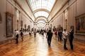 Картинка Louvre, people, Museum, art