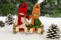 Картинка Merry Christmas, игрушки, Счастливого Рождества, украшения, new year, куклы, Christmas tree, елка, ornaments, toys, Новый ...