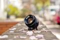 Картинка street, lens, petals, Fujinon