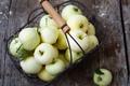 Картинка яблоки, урожай, фрукты, Julia Khusainova, корзина, осень