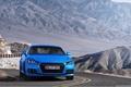 Картинка Audi TTS Coupe 2015, ауди тт, синий, горы, купе