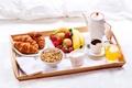 Картинка strawberry, milk, сок, croissants, apple, кофе, juice, мюсли, молоко, coffee, круассаны, завтрак, яблоки, бананы, клубника