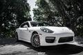 Картинка Porsche, egarage, Panamera, white