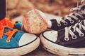 Картинка спорт, мяч, baseball, кроссовки