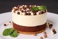 Картинка шарики, выпечка, пирожное, десерт, шоколадные, сладкое, мята
