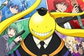 Картинка ufo, red, girl, gun, pistol, game, red hair, long hair, weapon, yellow, alien, smile, anime, ...