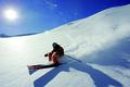 Картинка ski, free ride, snow, moutain, skier, winter