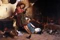 Картинка Картина, рисунок, художественная работа, дети, радость