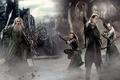 Картинка archer, Gandalf, The Lord of the Rings, Legolas, sword, staff, bow, archery, J.R.R. Tolkien, Gray ...