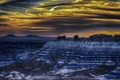 Картинка пейзаж, ночь, природа, Arizona, Petrified Forrest