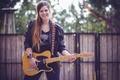 Картинка гитара, Nitsan Zapler, девушка