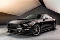 Картинка Stage 3, 2015, Roush, мустанг, Back, черный, форд, Mustang, Ford