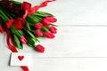 Картинка цветы, красный, тюльпаны, красные тюльпаны