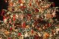 Картинка елка, новый год, праздник, украшение, игрушки, рождество