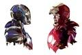 Картинка Рисунок, Iron Man, Железный Человек, Мужчина Robert Downey Jr