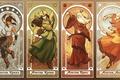 Картинка земля, Аватар, Киоши, Року, Aang, вода, Kyoshi, Roku, Avatar, Корра, огонь, воздух, Korra, Аанг, The ...