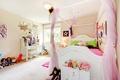 Картинка комната, уют, куклы, детская, подушки, игрушки, кровать