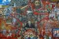 Картинка Илья глазунов, великий эксперимент, 1990г